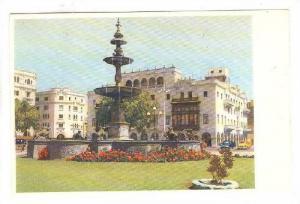 Fuente de la Plaza de Armas, Lima, Peru, 40-60s