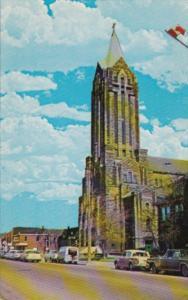 Canada Cathedral Of The Assumption Roman Catholic Church Moncton New Brunswick