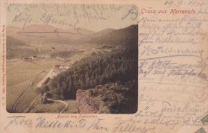 Gruss aus Herrenalb , Germany , PU-1900