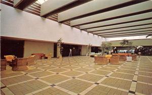 Dorado Puerto Rico 1960s Postcard Lobby at Cerromar Beach Hotel