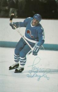 Quebec Nordiques Ice Hockey Player, Quebec , Canada , 70-80s ; #4