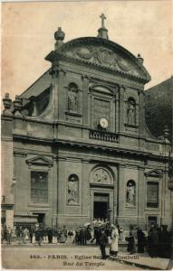 CPA Paris 3e Paris-Eglise Sainte-Elisabeth, Rue du Temple (314155)