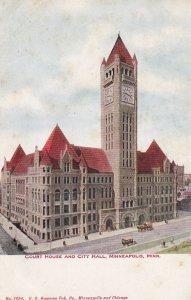 MINNEAPOLIS, Minnesota, 1900-1910s; Court House and City Hall