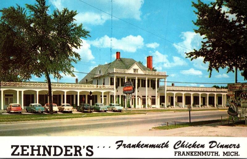 Michigan Frankenmuth Zehnder's Chicken Dinners