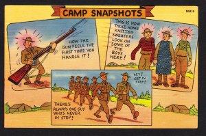 Camp Snapshots –  Ebert - West Allis, WI - 1941