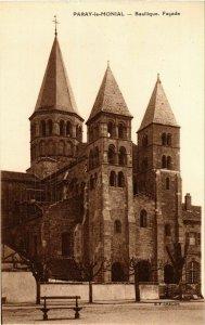 CPA Paray le Monial Basilique. Facade FRANCE (952943)