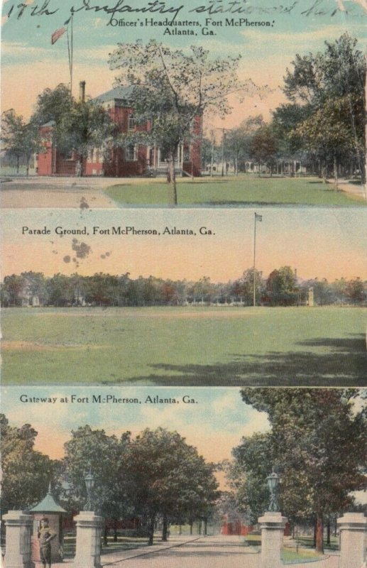 ATLANTA , Georgia, 1911 ; Fort McPherson