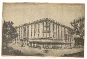 Bifold card; Hotel Terminus Restaurant , Carcassonne (Aude) , France, 1880-90s