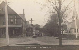 RP; NEW BOSTON , N.H. , 1900-10s ; River Street