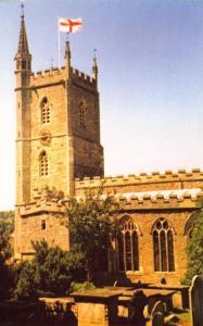 LIMITED EDITION Postcard WESTBURY ON TRYM Parish Church Bristol Avon
