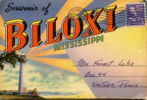 Folder - Biloxi, MS -   (18 Views + Covers + Narrative)
