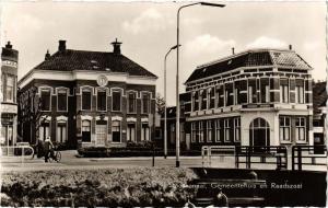 CPA Stadskanaal Gemeentehuis met Raadszaal NETHERLANDS (728362)