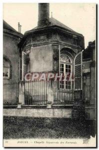 Old Postcard Joigny The sepulchral chapel Ferrands