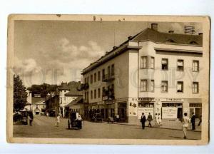 191530 SLOVAKIA PISTANY Wilson street Vintage postcard