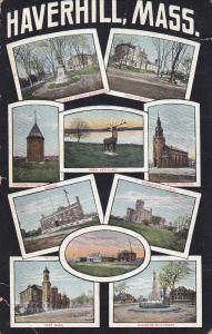 Multi-Views Of Haverhill, Massachusetts, 1900-1910s