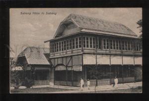 053395 INDONESIA Sabang Hotel te Sabang Vintage PC