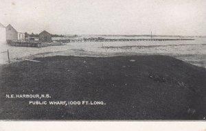 N.E.HARBOUR , Nova Scotia , Canada , 00-10s ; Public Wharf , 1000 Ft Long
