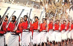 Fiji Royal Fiji Military Force on the March  Royal Fiji Military Force on the...