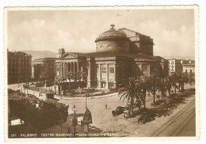 RP: Palermo , Italy , 30-40s ; Teatro Massimo