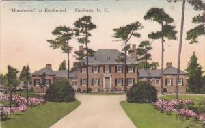 Hand-colored, Homewood at Knollwood, Pinehurst, North Carolina, 10-20s