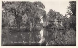 The Mill Guest House Brampton Huntingdon Real Photo Postcard