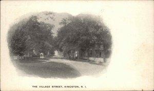 Kingston RI Village St. c1905 Postcard