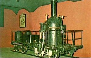 First Coal Burnung Locomotive York