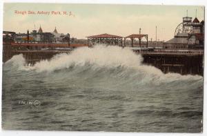 Rough Sea, Asbury Park NJ