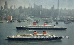 SS United States and SS America Ship Ocean Liners, Steamers Unused