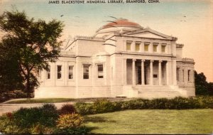 Connecticut Branford James Blackstone Memorial Library 1935