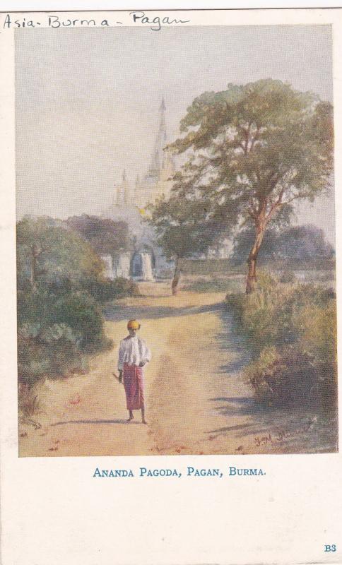 AS: Ananda Pagoda, PAGAN, Burma, 1900-10s