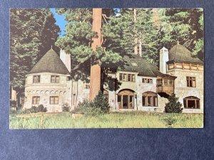 Vikingsholm Emerald Bay Lake Tahoe CA Chrome Postcard H1173085837