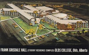 Frank Grisdale Hall (Student Complex), Old College, Olds, Alberta, Canada, 40...