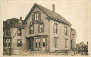 Eddy's Home 1940s Lynn Massachusetts RPPC real photo postcard 10020