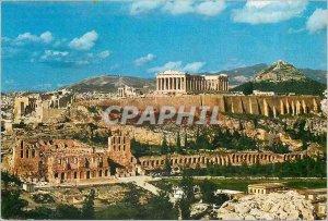 Postcard Modern Athens View of the Acropolis