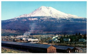 Mt. Shasta from Weed California Postcard
