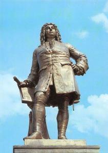 Handeldenkmal Halle Saale, Georg Friedrich Handel Statue Monument
