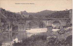 TOLEDO; Puente de San Martin, Castilla-La Mancha, Spain, 00-10s