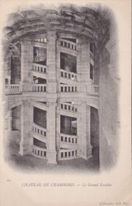 France Chateau de Chambord Le Graand Escalier