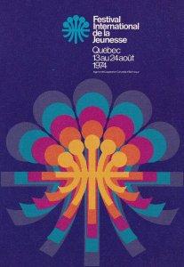QUEBEC, Canada, 1970's; Festival International De La Jeunesse