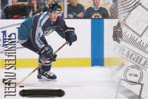 ANAHEIM , California , Ice Hockey player Teemu Selanne , 1997-98