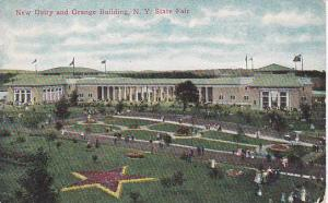New Dairy and Grange Building, State Fair, New York,00-10s