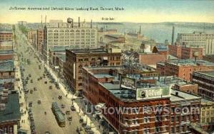 Jefferson Ave. and Detroit River Detroit MI Unused