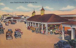Louisiana New Orleans New French Market Curteich