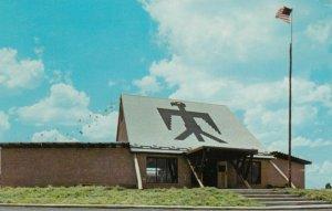 ANADARKO , OKLAHOMA, 1961 ; The Lodge, Indian city