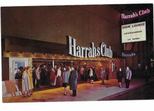 Harrahs Club Casino Reno Nevada 1960s