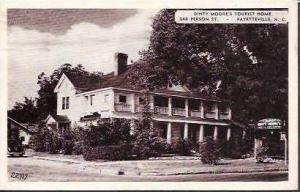 NC Fayetteville Dinty Moores Tourist Home 1949
