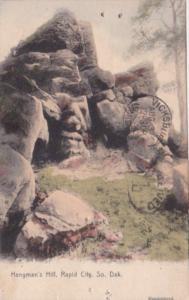 South Dakota Rapid City Hangman's Hill 1907 Rotograph