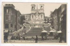RP Roma, Italy,PU 1923  Scalinata della Trinita dei monti