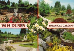 Flowers Van Dusen Botanical Gardens Vancouver British Columbia Canada